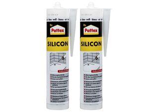 Pattex 2 Sanitärsilikon weiß 310 ml