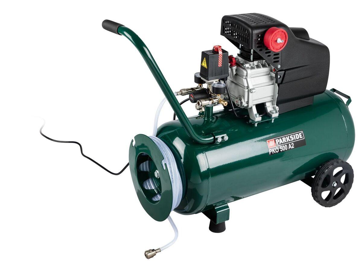 Bild 5 von PARKSIDE® Kompressor »PKO 500«, 50 l Kessel, mit 10 m Druckschlauch, stufenlos regelbar
