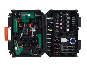 PARKSIDE® Druckluft Set, 5 Druckluftgeräte und Zubehör, Druck 6,3 bar