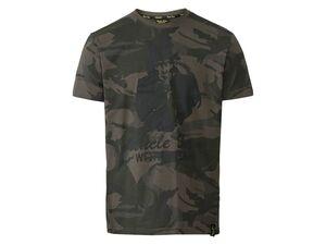 Uncle Sam Workwear T-Shirt Herren, mit Rundhalsausschnitt, Ripp am Hals, aus Baumwolle