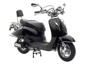 Nova Motors Motorroller »Retro Cruiser«, Viertaktmotor, 1 Zylinder, stufenlose Automatik