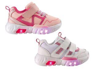 LUPILU®  Kleinkinder Sneakers Mädchen, mit Blink-Effekt, aus Mesh