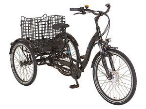 Prophete E-Bike »CARGO 3R«, Dreirad, 26 Zoll, 60 km Reichweite, 3 Gang Shimano