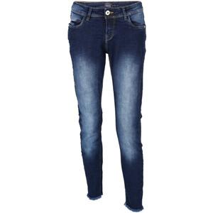 Damen Jeans mit Fransenkante