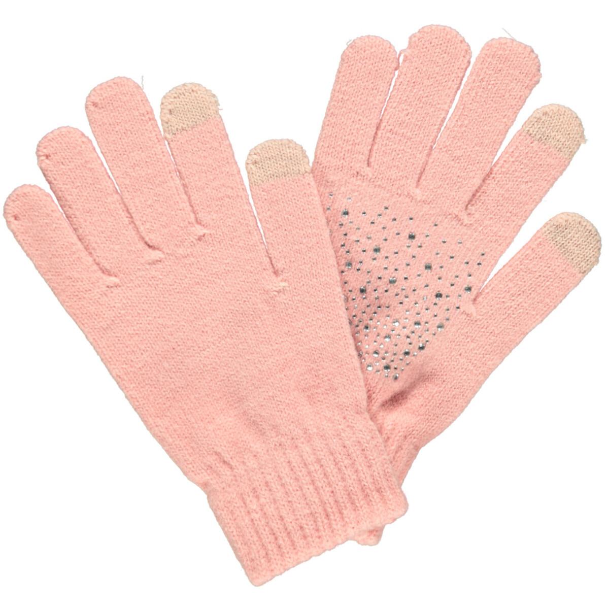 Bild 2 von Damen Handschuhe mit Strasssteinchen