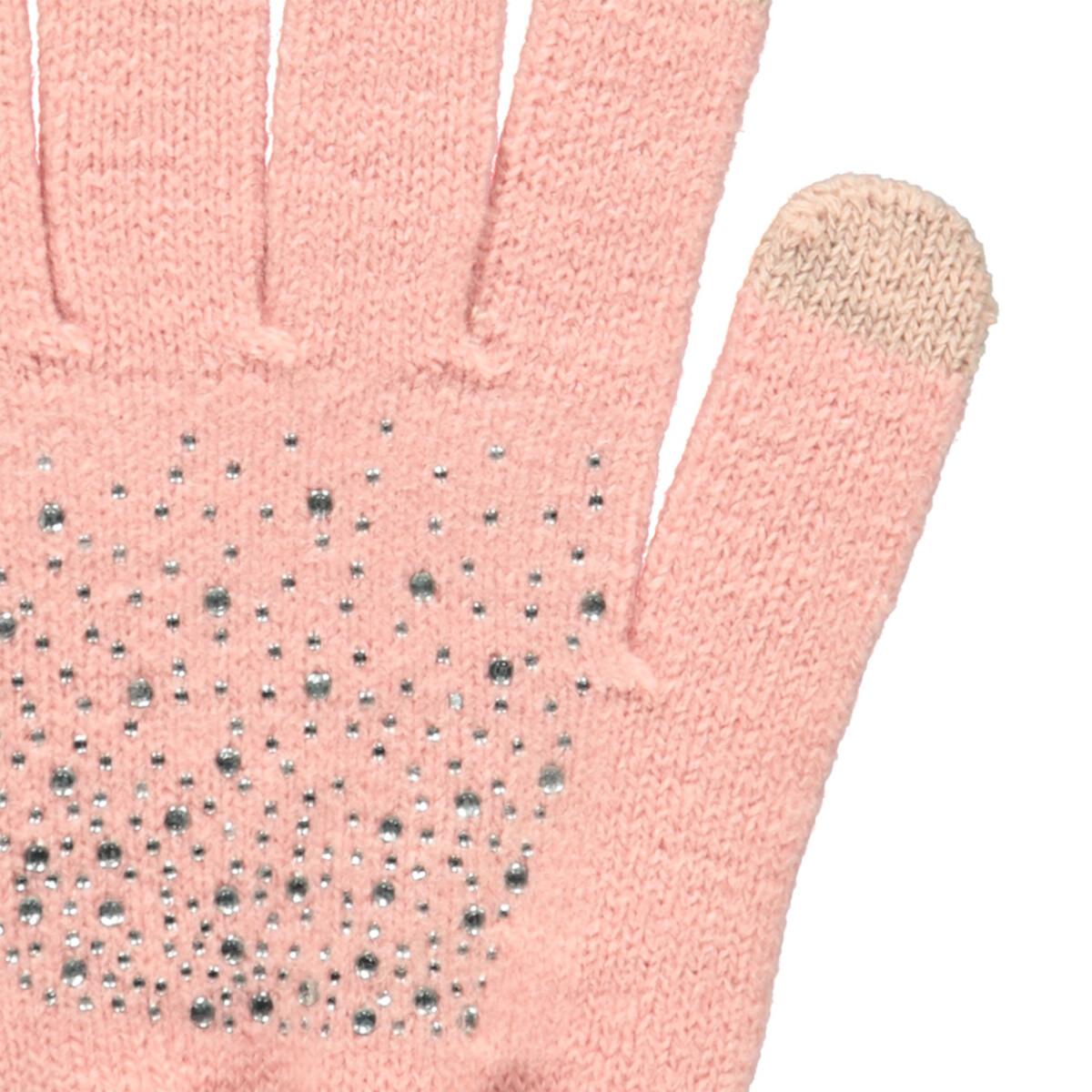 Bild 3 von Damen Handschuhe mit Strasssteinchen