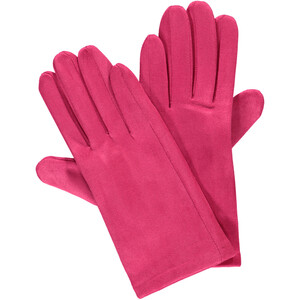 Damen Handschuhe in Velour Optik