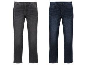 LIVERGY® Jeans Herren, Slim Fit, hoher Baumwollanteil