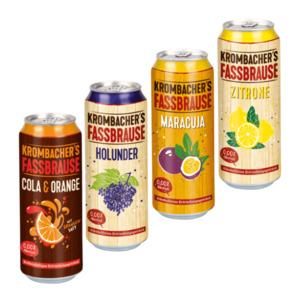 Krombacher's Fassbrause