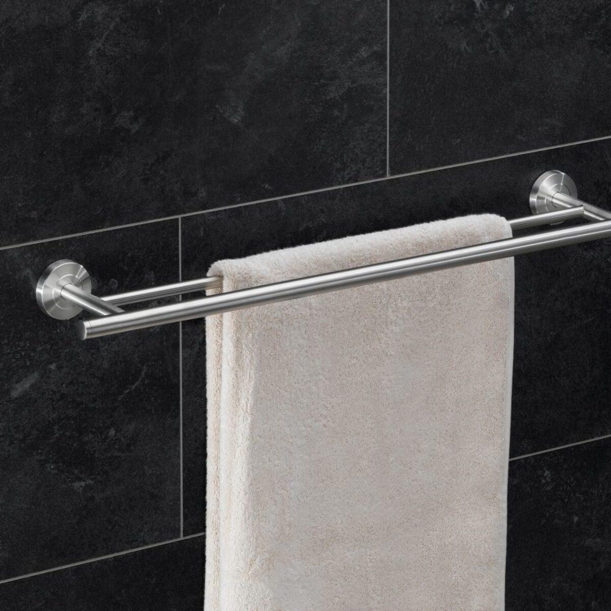 HOME CREATION Glas Handtuchhalter Badetuchstange von