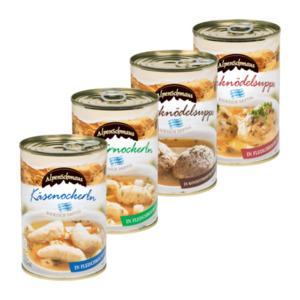 ALPENSCHMAUS     Bayrische Suppe