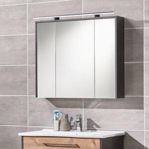 Bad-Spiegelschrank Living Style Milano, mit LED-Beleuchtung, 83,5 cm