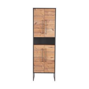 Badezimmer-Hochschrank Living Style Milano, anthrazit