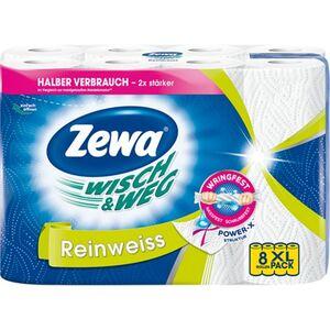 Zewa Küchentücher W&W Reinweiss 8 x 45 Blatt