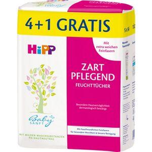 HiPP Babysanft Feuchttücher mit Duft 4+1x56