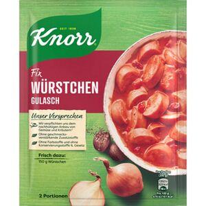 Knorr Fix Würstchengulasch 29g