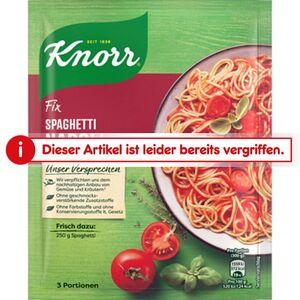 Knorr Fix Spaghetti Napoli 39g