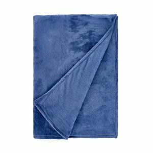 Fleecedecke 150x200cm dunkelblau