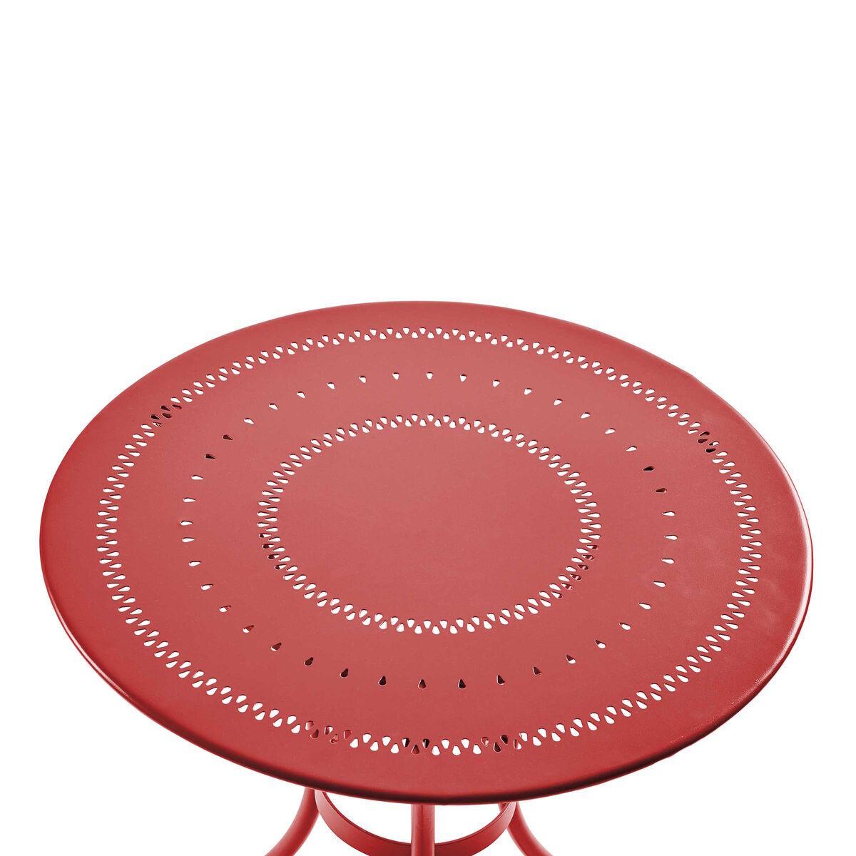 Bild 3 von Bistrotisch rot