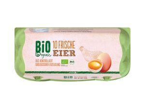Frische Bio-Eier
