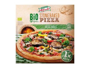 Bio-Steinofen-Pizza Gemüse