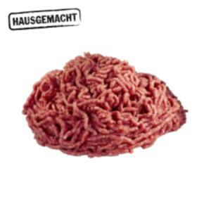 Deutsches frischesRinderhackfleisch, Jungbullen-Beinscheiben oder Hamburger Patty