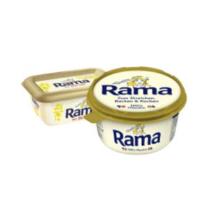 Rama pflanzlich basierter Brotaufstrich oder Rama mit Butter