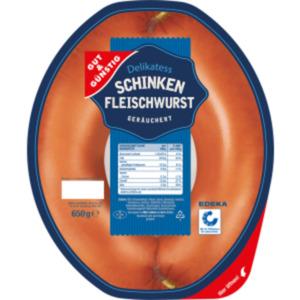 Gut & Günstig Delikatess Schinken Fleischwurst