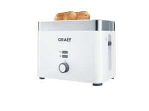 GRAEF TO 61 Toaster in Weiß
