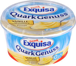 EXQUISA  							Quark Genuss