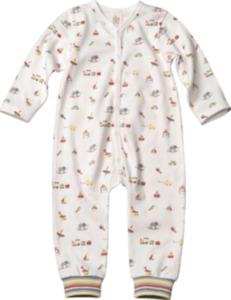 ALANA Baby Schlafanzug, Gr. 74/80, in Bio-Baumwolle, weiß, bunt, für Mädchen und Jungen