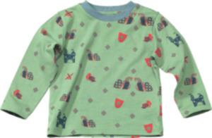 ALANA Kinder Pullover, Gr. 92, in Bio-Baumwolle, grün