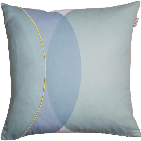 KISSENHÜLLE Blau, Creme, Gelb, Mintgrün 45/45 cm