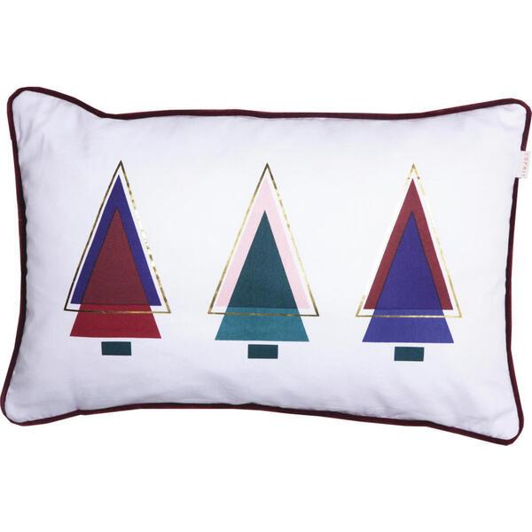 KISSENHÜLLE Blau, Rosa, Weiß, Goldfarben, Petrol, Weinrot 38/58 cm