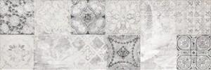 Wandfliesen Locarno Patchwork Inserto, 25x75cm, Stck 4 25 x 75 cm