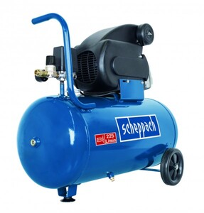 Scheppach Kompressor HC60 10 bar, 50 L, 165 l/min, 1.5 kW, 230 V