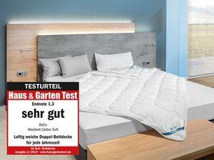 BeCo Vierjahreszeiten-Bettdecke »Medibett Cotton Soft«, perfekte Klimatisierung, stabil