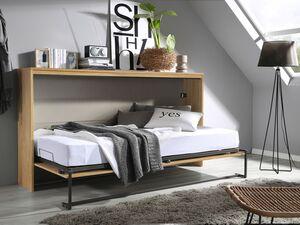 Rauch Bett »ALBERO«, quer klappbar, Front aus 2 Paneelen, inklusive Lattenrost