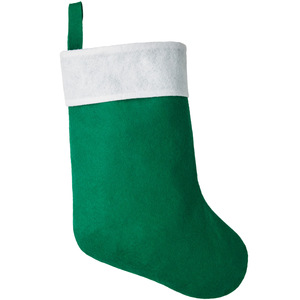 Klassischer Nikolausstiefel grün