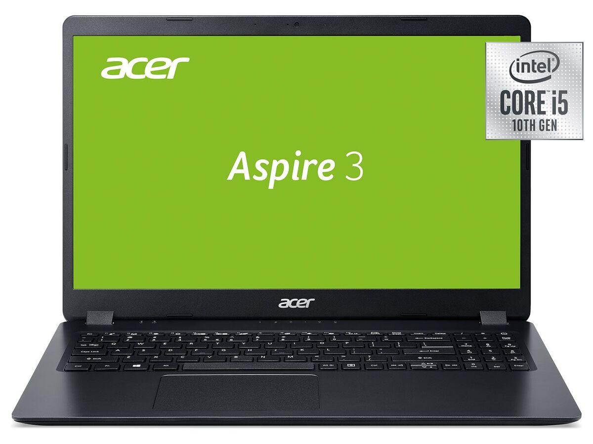 "Bild 1 von acer Aspire 3 A315-54-58ZK 15,6"" Zoll FHD Laptop (10th Gen Intel Core i5/8GB RAM/1TB SSD/Windows 10 Home 64 Bit/Intel® UHD Graphics)"