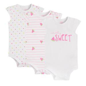 Baby Body 3er Pack für Mädchen