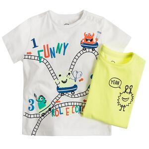 Baby T-Shirt 2er Pack für Jungen
