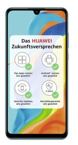 Huawei P30 Lite New Edition ,  256 GB, blau