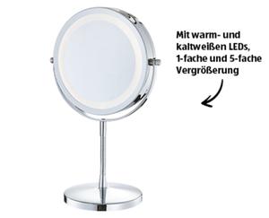 LACURA Beleuchteter Kosmetikspiegel