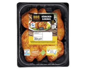 BBQ Hähnchenschenkel, gewürzt, XXL-Packung