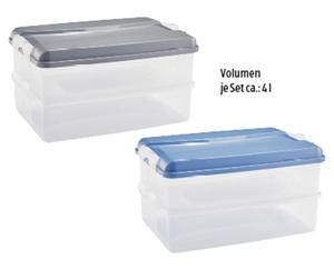 CROFTON®  Aufschnitt-Boxen, 2er- oder 3er-Set