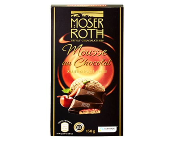 MOSER ROTH Mousse au Chocolat