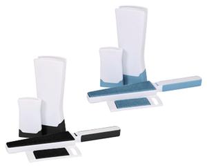 EASY HOME®  Fusselbürsten-Set mit Reinigungsstation
