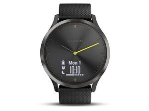 GARMIN Smartwatch Vivomove HR Sport Größe L Schwarz