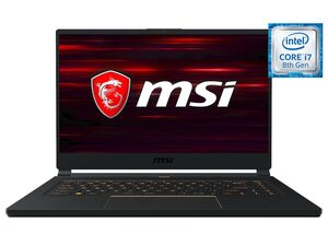 "MSI GS65 8SF-264DC Gaming Laptop - 15"" FHD / i7-8750H / 16GB RAM / 512GB SSD / RTX 2070 8GB / Win 10 Home"